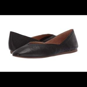 Lucky Brand Alba leather ballet flats